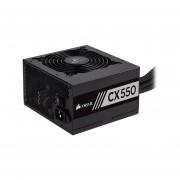 Fuente de Poder Corsair CX550 de 550W, ATX, 80 Plus Bronze. CP-9020121-NA