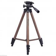 Aluminium Draagbare Lichtgewicht Statief met Pan head en Quick release plaat voor 'S camcorder DSLR Nikon Sony Canon