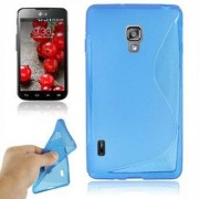 LG S-Line Silikon LG Optimus L7 2 (Blå)