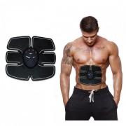 Centura electrostimulare EMS Six Pack pentru abdomen