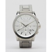 Giorgio Armani Exchange AX2058 Stainless Steel Watch In Silver - Silver