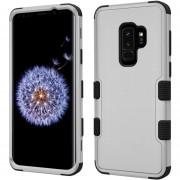 Funda Case Samsung S9 Plus Protector Uso Rudo - Gris Negro