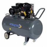 HM V 0.25/250 - Compresor cu piston, antrenare prin curea , STAGER HM V 0.25/250