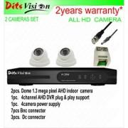 Ditsvision 2 HD CCTV camera set 1.3 mega pixel