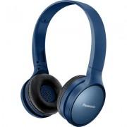 Безжични Bluetooth слушалки Panasonic RP-HF410BE-A, сини