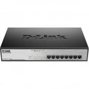 D-Link DGS-1008MP Mrežni preklopnik 8 ulaza 1 Mbit/s PoE funkcija