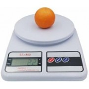 MOONZA Electronic Digital 10 Kg Weight Scale Lcd Kitchen Weight Scale Machine Measure for measuring fruits,Spice,Food,Vegetable And More (Sf-400) Weighing Scale Weighing Scale Weighing Scale(White)