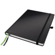 Caiet de birou, A4, dictando, negru, LEITZ Complete