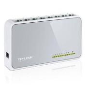 TP-LINK (TL-SF1008D V8) 8-Port 10/100 Unmanaged Desktop Switch, Pl...