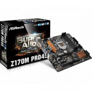 Asrock Intel Socket 1151 (mATX) MB ASR-Z170M PRO4S-RMA