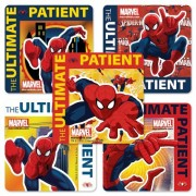 Spiderman Patient Stickers - 100 Per Pack