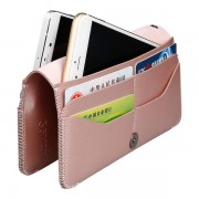 Women Men Phone Bag Soft Leather Wallet Clutches For IPhone 7/6s/6splus 8 Card Holder