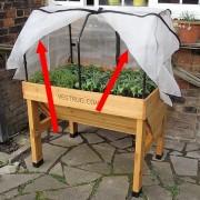 Insectengaas voor vegtrug 1 m