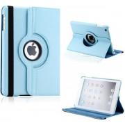 Xssive Tablet Hoes Case Cover 360° draaibaar voor Apple iPad Mini 3 Licht Blauw