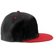 Black Plain Cotton Caps 44