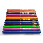 ADS 12 PCS MULTI COLOURS WATER PROOF EYE LINER PENCIL