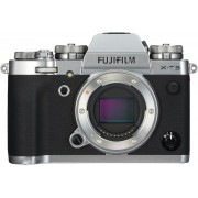 Fujifilm X -T3 MILC Body 21,6 MP CMOS 6240 x 4160 Pixels Zwart, Zilver