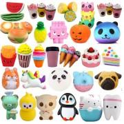Pack de 12 Squishy variedad, juguetes para niños, aprendizaje