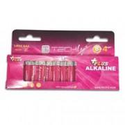Techly Blister 12 Batterie Power Plus Mini Stilo AAA Alcaline LR03 1,5V
