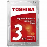 HDD desktop Toshiba P300 3.5 3TB, 7200RPM, 64MB, NCQ, AF, SATAIII, bulk HDWD130UZSVA