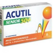 Acutil multivitaminico senior 50+24 compresse