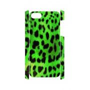 iPhone 5 en 5S Case panter print groen