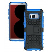 Blue Shock Proof Defender Kickstand Case For Samsung Galaxy S8