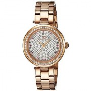 Gio Collection Analog White Dial Womens Watch - G2008-33