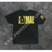 Animal t-shirt Black Extra Size