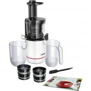 Storcator de fructe cu melc Bosch MESM500W 2 filtre Melc din Tritan 150W Alb
