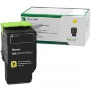 Lexmark C232HY0 toner amarillo