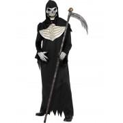 Costum Halloween barbati grim reaper de luxe