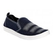 Azotic mens casual shoes(washing-01-black)(8 M UK Men)