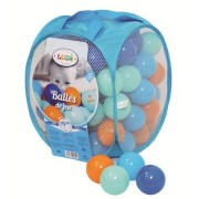 Set bile de joaca pentru bebelusi Ludi 75 piese Bleu