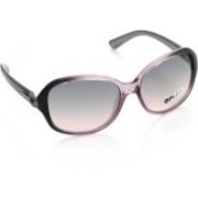 Opium Rectangular Sunglasses(Pink, Grey)