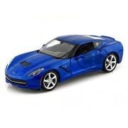 2014 Chevy Corvette Stingray 1/24 Blue