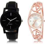 The Shopoholic Black Silver Combo Latest Fashionable Black And Silver Dial Analog Watch For Boys And Girls Watches Men