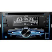 Radio MP3 Player Auto JVC KW-R520 Subwoofer control USB AUX