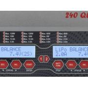 VOLTCRAFT Multifunktionsladdare 12 V, 230 V 12 A VOLTCRAFT V-Charge 240 Quadro LiPo, LiFePO, LiIon, LiHV, NiCd, NiMH, Bly