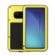LOVE MEI Shockproof Dropproof Dustproof Case for Samsung Galaxy S10e - Yellow