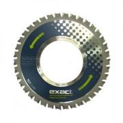 TCT Z140 Exact Tools Disc cu dinti din carbura pentru tăierea oțelului, cuprului, aluminiului