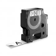 Etichete autocolante DYMO LabelManager D1 poliester permanent 19mm x 5.5m negru alb 16960 S0718070