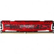 CRUCIAL Mémoire 4Go DDR4 2400Mhz PC4-19200 BALLISTIX Sport LT Rouge