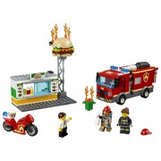 LEGO® City Stingerea incendiului de la Burger Bar