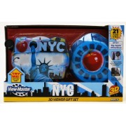 Basic Fun NY ViewMaster Statue of Liberty Gift Set: Famous Buildings and Monuments