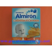 ALMIRON GALLETITAS 6 CEREALES [BP] 151674 ALMIRON GALLETITAS 6 CEREALES - (180 G )