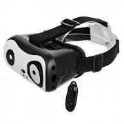 VR Virtual Reality 3D Gafas + Controlador Bluetooth - Negro + Blanco