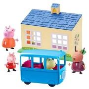 Peppa Malac - Iskola és iskolabusz