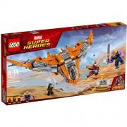 Set de constructie LEGO Marvel Super Heroes Thanos: Batalia Suprema