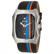 EOS New York Heist Stripe Watch Black/Blue/Orange 216SBLUORG